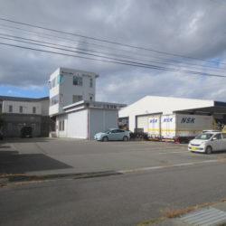 諏訪市中洲倉庫付き事務所